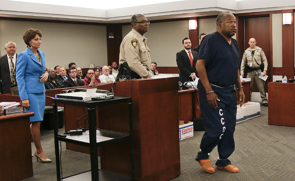 O.J. Simpson in Nevada Courtroom