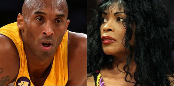 Kobe Bryant and mother Pamela