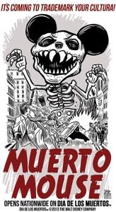 "Disney said it was no longer seeking a ""Dia de los Muertos"" trademark request because the film's name will change before its release. (laloalcaraz.com)"