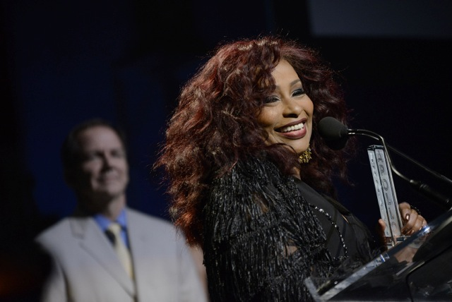 Chaka Kahn honored by the Apollo Theater