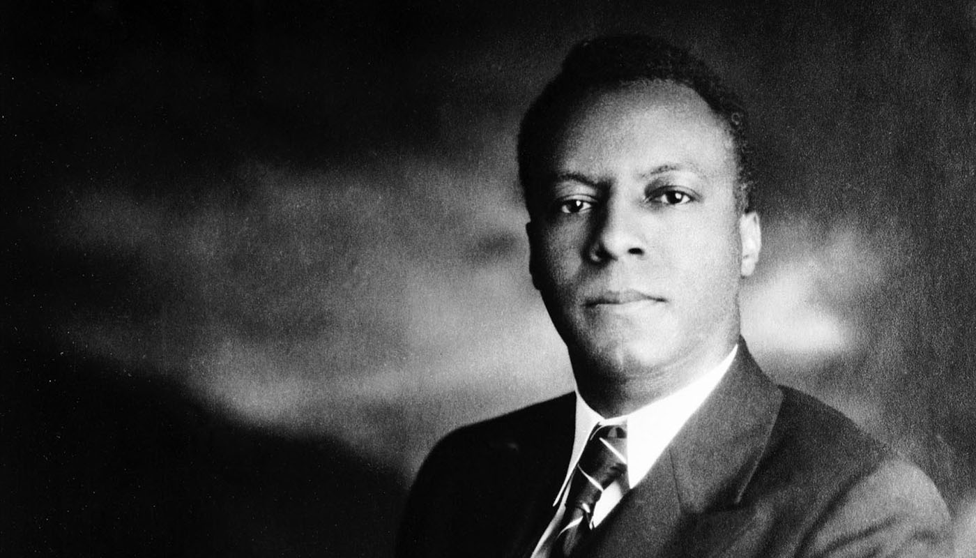 A. Philip Randolph founded the first Black labor union chartered in America and the first to win a collective bargaining agreement with a major U.S corporation, the powerful Pullman Company. (A. Philip Randolph Pullman Porter Museum Founding Collection)