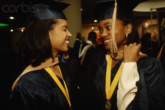 Class Valedictorian and Fellow Graduate