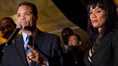 Jesse Jackson, Jr. and wife Sandra