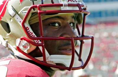 In this Oct. 5, 2013, file photo, Florida State's Jameis Winston looks around during warms ups prior to an NCAA college football game against Maryland in Tallahassee, Fla. Winston is under investigation in an alleged sexual assault reported nearly a nearly a year ago, the university and Winston's attorney confirmed on Wednesday, Nov. 13, 2013, (AP Photo/Steve Cannon, File)