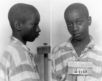 FILE - This undated file photo provided by the South Carolina Department of Archives and History shows George Stinney Jr., the youngest person ever executed in South Carolina, in 1944. Supporters of Stinney plan to argue Tuesday, Jan. 21, 2014, that there wasn't enough evidence to find him guilty in 1944 of killing a 7-year-old and an 11-year-old girl. The black teen was found guilty of killing the white girls in a trial that lasted less than a day in the tiny Southern mill town of Alcolu, separated, as most were in those days, by race. (AP Photo/South Carolina Department of Archives and History, File)