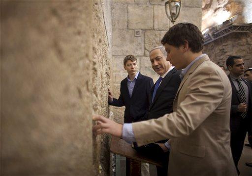 Mideast Israel Netanyahus Son