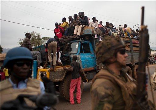 Central African Republic Evacuations