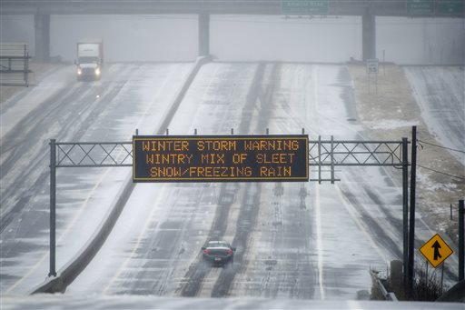 US Winter Weather Atlanta