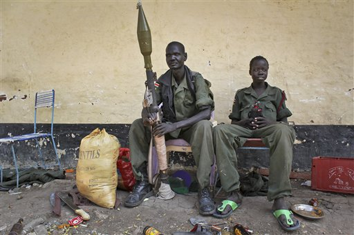 South Sudan Destroyed City