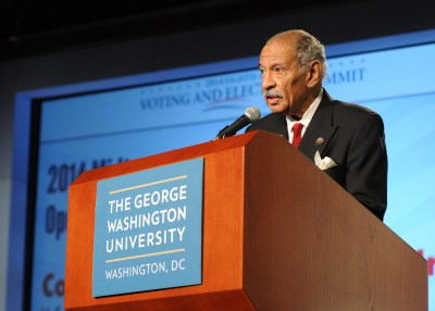 Rep. John Conyers wants emphasis on job creation (NNPA Photo by Freddie Allen)
