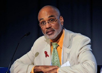 Phill Wilson says no one cares about HIV-infected Blacks more than other Blacks (NNPA Photo by Freddie Allen)