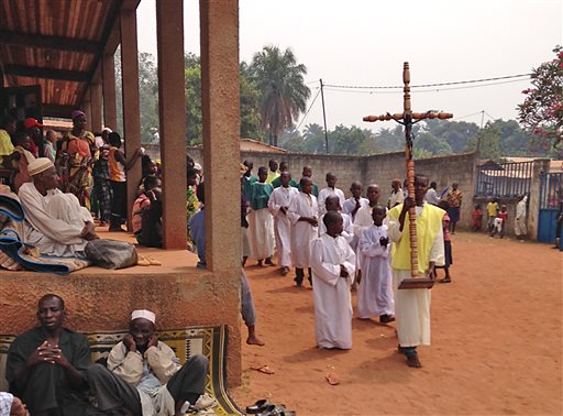 Central African Republic Church Refuge