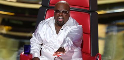 """The Voice"""" judge CeeLo Green on the Sept. 17, 2012 episode of the show. Green says he won't be returning to the show. (Credit: NBC)"""