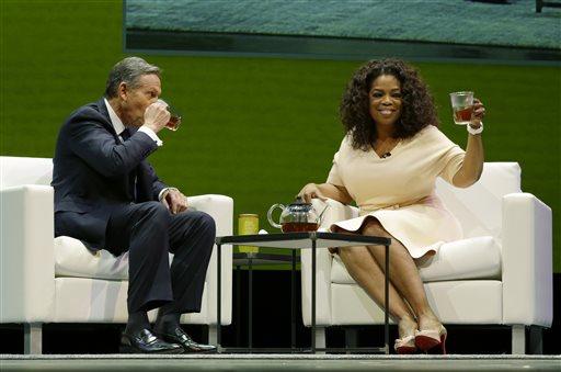 Howard Schultz, Oprah Winfrey