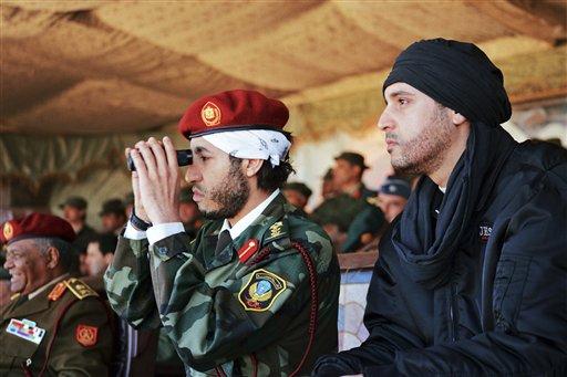 Hannibal Gadhafi,  al-Saadi Gadhafi