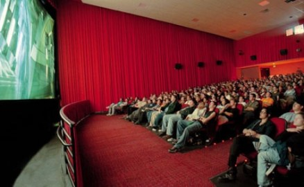 A packed movie theater (Courtesy of AP)