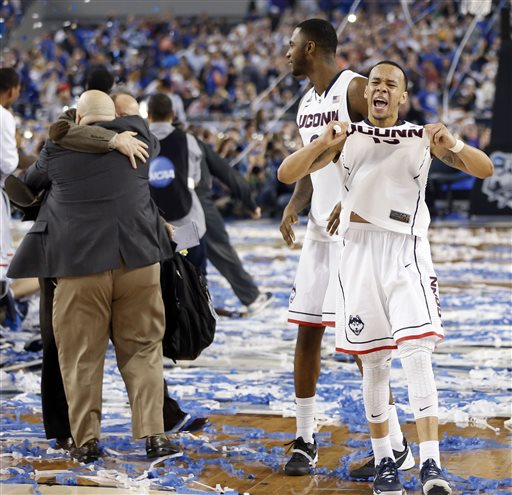 NCAA Kentucky UConn Final Four Basketball