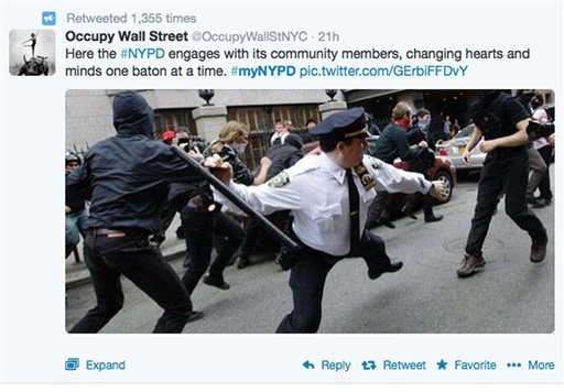 NYPD Twitter