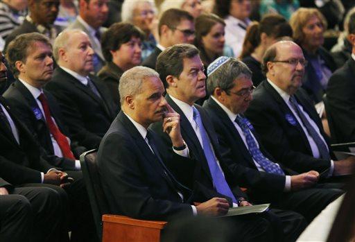 Eric Holder, Sam Brownback