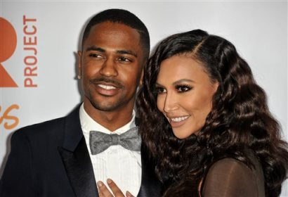 "In this Dec. 8, 2013 file photo, Big Sean, left, and Naya Rivera arrive at TrevorLIVE Los Angeles Benefit at the Hollywood Palladium, in Los Angeles. The rapper and actress are no longer engaged. A spokeswoman for Big Sean announced Wednesday, April 9, 2014, that he has canceled plans to marry the ""Glee"" star. (Photo by Richard Shotwell/Invision/AP, file)"