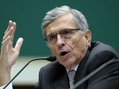 Federal Communications Commission Chairman Tom Wheeler testifies on Capitol Hill on Dec. 12, 2013. (Susan Walsh/AP Photo)