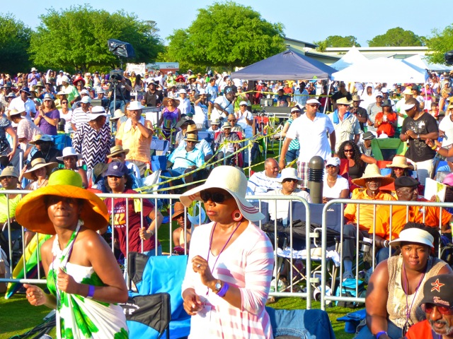 7. Seabreeze Jazz Festival Audience photo by Dwight Brown