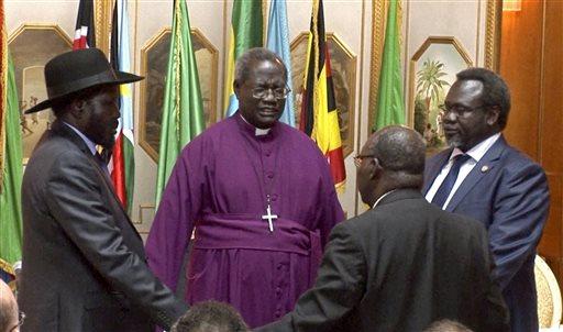 Salva Kiir Riek Machar