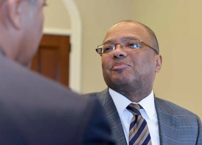 Broderick Johnson directs new White House initiative on Black males. (NNPA Photo by Freddie Allen)