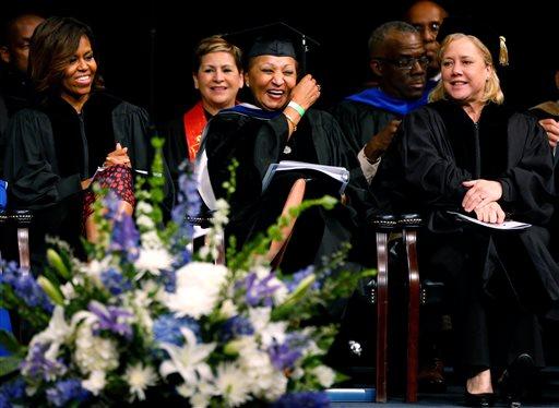 Michelle Obama, Joyce M. Roche, Mary L. Landrieu