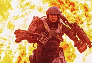 """Tom Cruise stars in sci-fi action flick, """"Edge of Tomorrow."""""""
