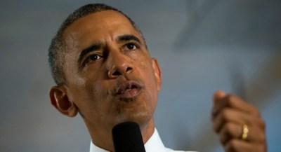 President Barack Obama speaks at 1776, a hub for tech startups, Thursday, July 3, 2014, in Washington. (AP Photo/Jacquelyn Martin)