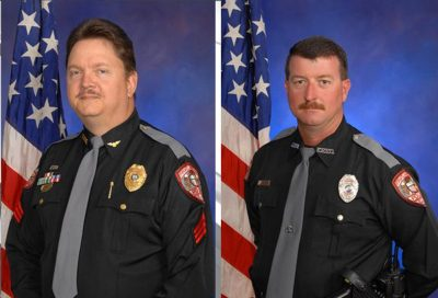 Deputy Chief David Borst and Officer George Hunnewell (Fruitland Park Police Department)