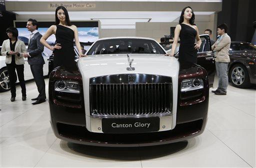 Britain Rolls Royce