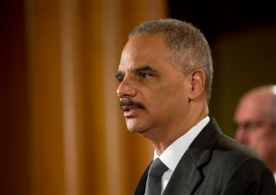 Attorney General Eric Holder announces at the Justice Department in Washington Monday, July 14, 2014, that Citigroup will pay $7 billion to settle an investigation into risky subprime mortgages, the type that helped fuel the financial crisis. The agreement comes weeks after talks between the sides broke down, prompting the government to warn that it would sue the New York investment bank. The bank had offered to pay less then $4 billion, a sum substantially less that what the Justice Department was asking for. The settlement stems from the sale of securities made up of subprime mortgages, which fueled both the housing boon and bust that triggered the Great Recession at the end of 2007. (AP Photo/Pablo Martinez Monsivais)