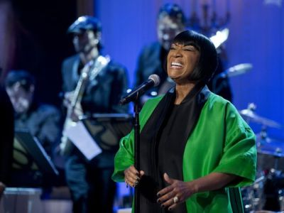 "Patti LaBelle sings ""Over the Rainbow"" during the ""In Performance at the White House: Women of Soul"" on March 6, 2014. (Manuel Balce Ceneta/AP)"