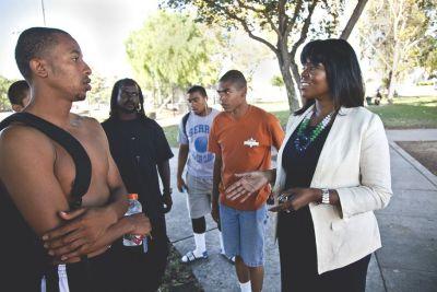 Compton Mayor Aja Brown (Ted Soqui/APImages)