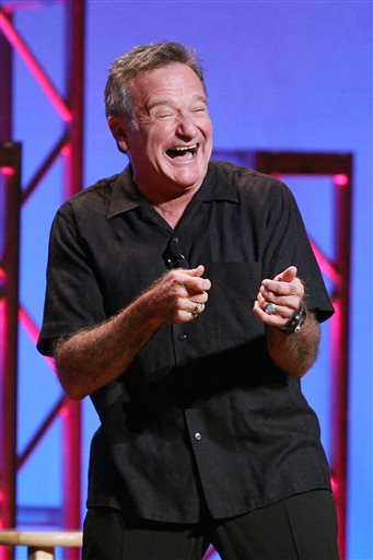 Archive Photos: Robin Williams `Weapons of Self Destruction` at Town Hall in New York