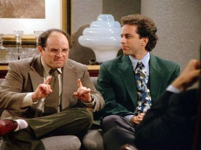 "Jason Alexander played George Costanza on ""Seinfeld,"" a character who often worried about his male-pattern baldness. (Photo: Sony Pictures Home Entertainment)"