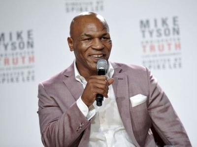 Mike Tyson (AP Photo)