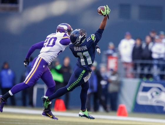 NFL wide receiver, Percy Harvin. (Adam Rifkin/Flickr/CC license)