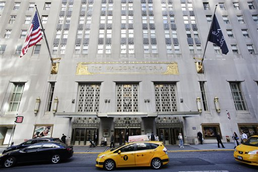 Hilton Waldorf Astoria Sold