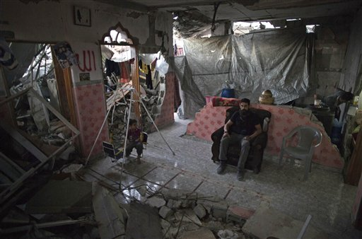 Mideast Palestinians Road To Reconstruction
