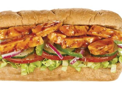 Subway's Sweet Onion Chicken Teriyaki sandwich is part of the new Simple Six $6 menu. (Courtesy of Subway)