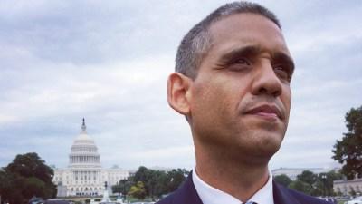 Louis Ortiz in Washington.(Bronx Obama movie)