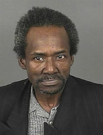 This undated photo provided by the Denver Department of Safety shows Marvin Booker, a homeless Denver street preacher. Jury selection got underway Monday, Sept. 22, 2014, in the civil trial for five Denver sheriff's deputies accused of causing the 2010 death of Booker in the downtown jail. Booker died after deputies shocked him with a Taser after he was handcuffed, put him in a sleeper hold and lay on top of him. (AP Photo/Denver Department of Safety, file)