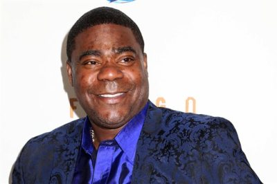 """In this April 9, 2014 file photo, actor Tracy Morgan attends the FX Networks Upfront premiere screening of """"Fargo"""" at the SVA Theater in New York. Wal-Mart says actor-comedian Morgan and other people in a vehicle struck from behind by a company truck on a New Jersey highway in June weren't wearing seatbelts. Wal-Mart's filing was made Monday, Sept. 29, 2014, in federal court in response to a lawsuit Morgan filed in July. (Photo by Greg Allen/Invision/AP, File)"""