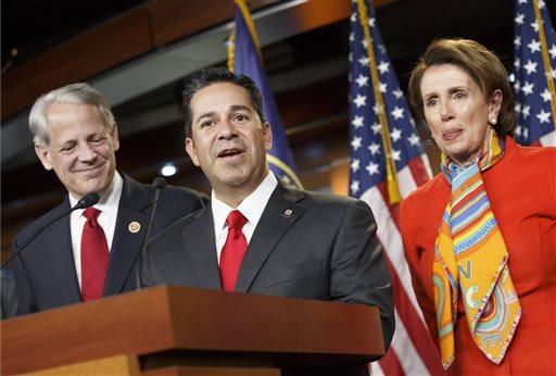 Nancy Pelosi, Ben R. Lujan, Steve Israel