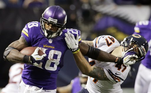 Adrian Peterson, Chris Conte