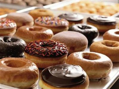 This photo provided by Dunkin' Donuts on Monday, May 5, 2014 shows a selection of the doughnuts they sell. (AP Photo/Dunkin Donuts)