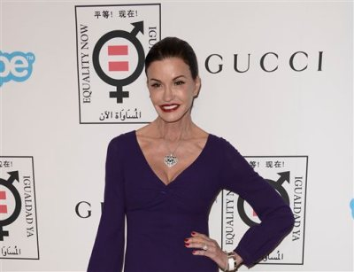 """In this Monday, Nov. 4, 2013 file photo, model and television personality Janice Dickinson arrives at the Make Equality Reality Gala at the Montage Beverly Hills, in Beverly Hills, Calif. Dickinson is adding her name to the women who have accused comic Bill Cosby of sexual assault. In an """"Entertainment Tonight"""" interview that aired Tuesday, Nov. 18, 2014, Dickinson said that the 1982 incident occurred in Lake Tahoe, California, where he was performing. (Photo by Dan Steinberg/Invision/AP, File)"""